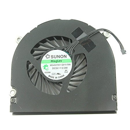 CPU Fan, Left for Apple MacBook Pro 17 inch A1297 Early 2009 to Late 2011