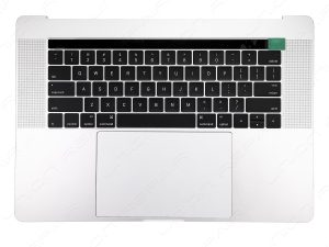 A1707 TopCase with Keyboard and Trackpad (Silver) for Apple MacBook Pro 15 inch retina Touch Bar A1707 Late 2016