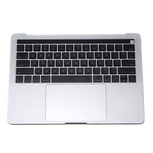 hot sale online a583b 12d9e Top Case (Silver) with Keyboard and Trackpad for Apple MacBook Pro 13 inch  retina A1706 Touch Late 2016, A1706 Touch Mid 2017