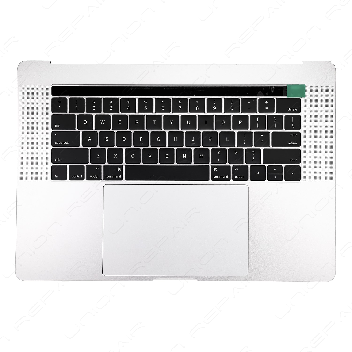 new products 29c4e 25fdc Top Case (Silver) for Apple MacBook Pro 15 inch retina Touch Bar A1707 Mid  2017