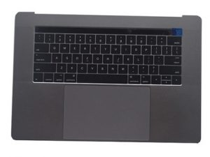 A1707 TopCase (Space Grey) for Apple MacBook Pro 15 inch retina Touch Bar A1707 Mid 2017