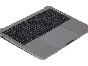 Top Case ( Space Grey) with Keyboard and Trackpad for Apple MacBook Pro 13 inch retina A1708 Late 2016