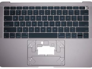 Keyboard Top Case For Apple MacBook Air 13-inch Retina A1932 Space Grey Late 2018, A1932 Mid 2019