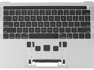 A1259 Top Case with Keyboard, Silver for Apple MacBook Pro 13-inch Retina Touch A1259 (Mid 2019)