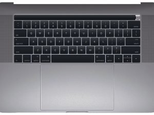 A1990 Top Case with Keyboard, Space Gray for Apple MacBook Pro 15-inch Retina Touch A1990 (Mid 2018)