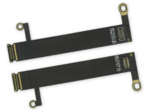 A Pair LED Display Backlight Flex Cables for Apple MacBook Pro 13-inch A1708 A1706 A1989( Late 2016 -Mid 2019) 15-inch Touch Bar A1707 A1990 (Late 2016 - Mid 2019)